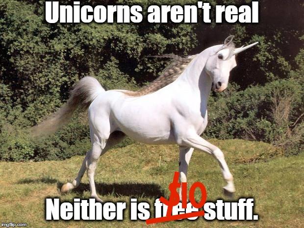 Unicorns aren't real